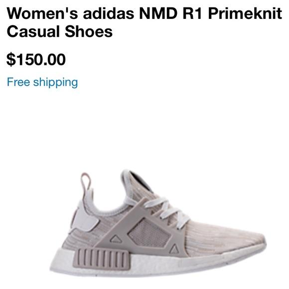 le adidas donne nmd rt primeknit offwhite scarpa poshmark